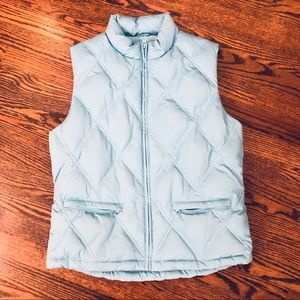 Gap Teal  Puffy Vest. Size Medium